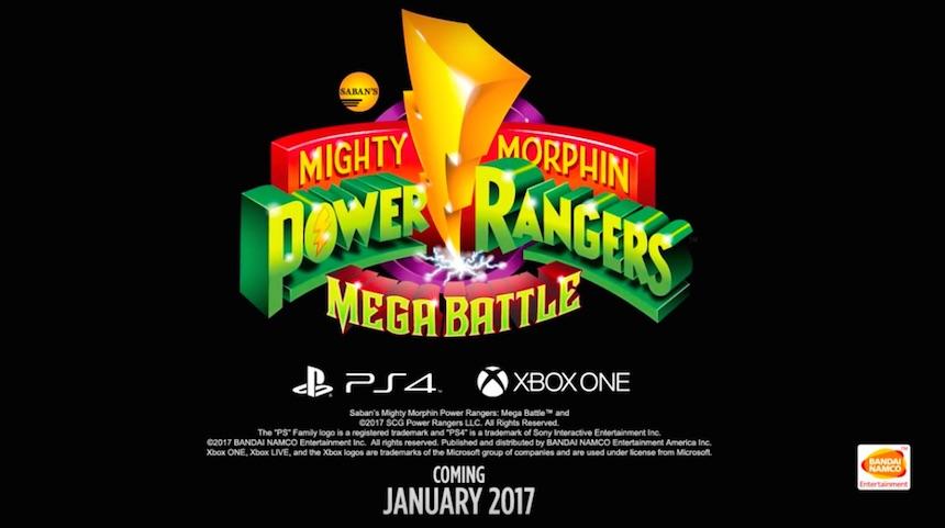 Power Rangers: Mega Battle 3
