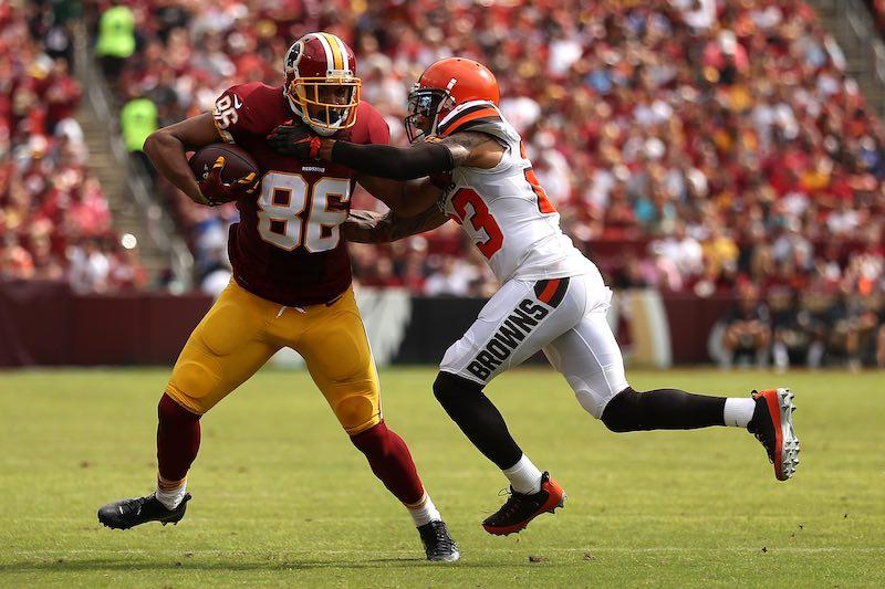 Redskins contra Browns en cuarta semana