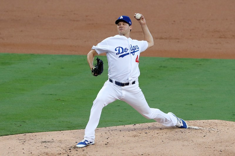 Rich Hill Angeles dodgers