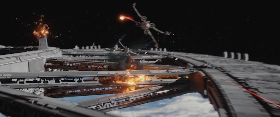 Batalla en el espacio - Rogue One