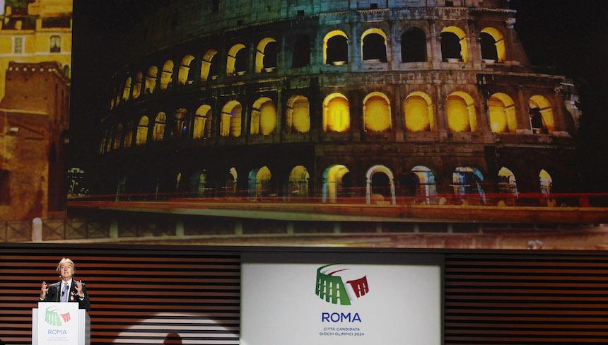 Roma se bajó del barco por la candidatura de los Juegos Olímpicos