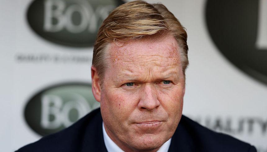 Ronald Koeman atraviesa un momento complicado con el Everton