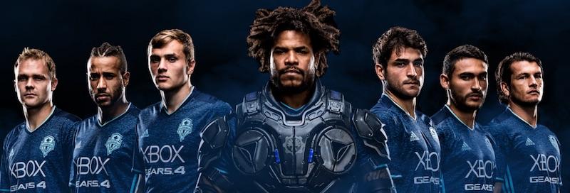 ¡Sueño hecho realidad! Así es la playera de Seattle Sounders inspirada en Gears of War 4