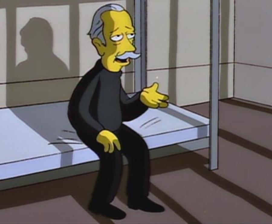 El Gato en Los Simpson