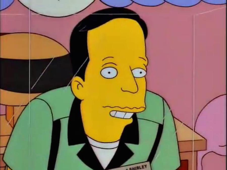 Los Simpson - Javier
