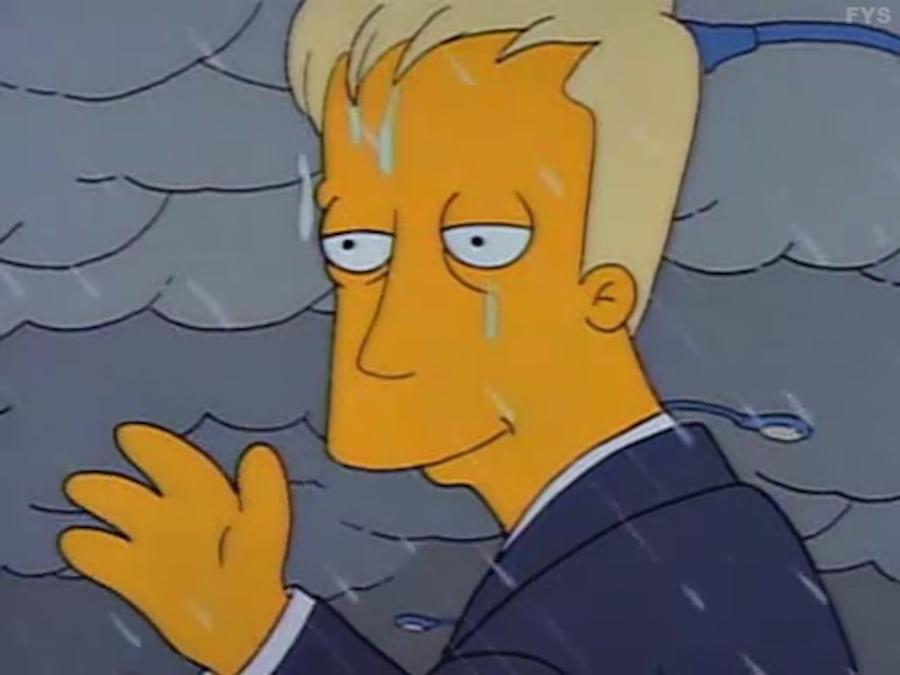 Karl en Los Simpson