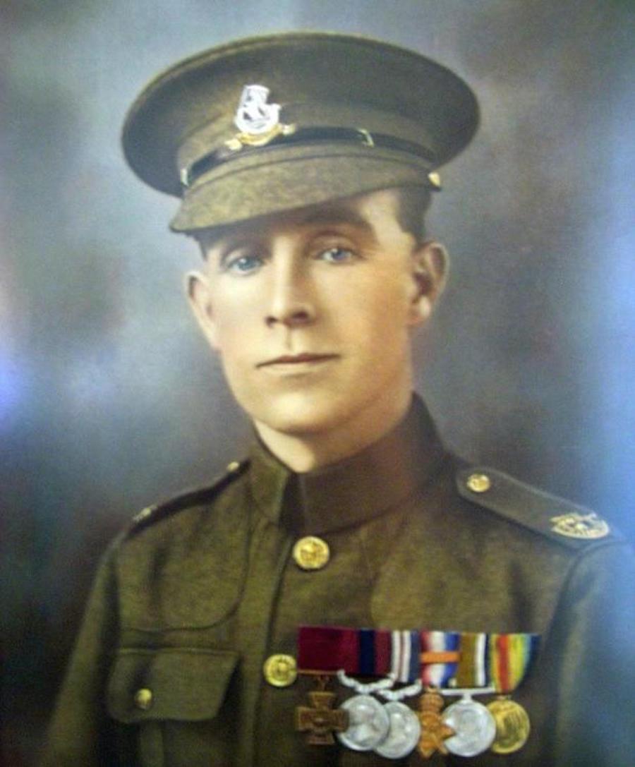 Soldado británico - Henry Tandey