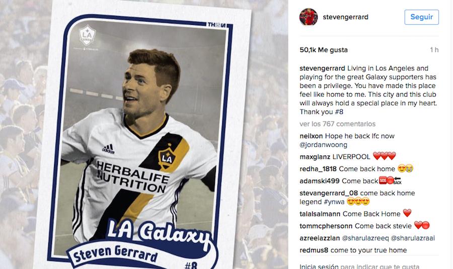 ¿El mítico Steven Gerrard regresará a los campos de Anfield?
