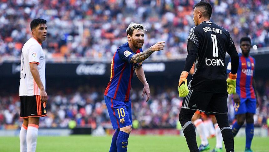 Messi puso el tercer gol en el partido