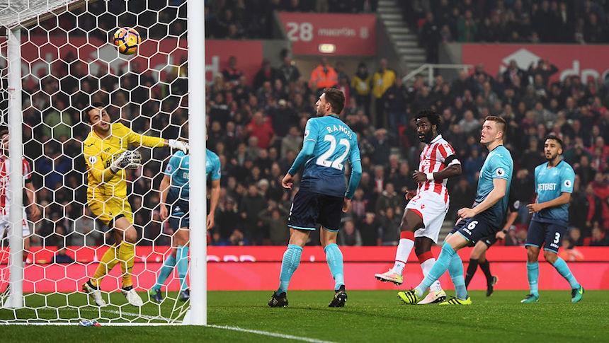El Swansea no fue rival para el Stoke City