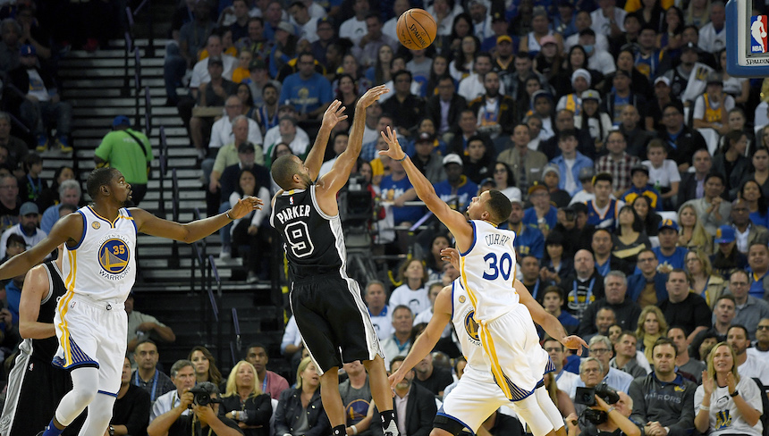 Los San Antonio Spurs sorprenden a los Golden State Warriors