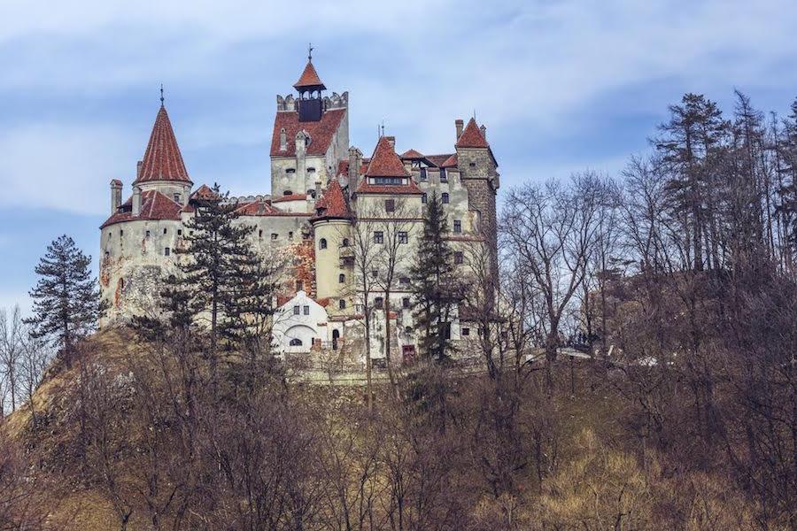 Castillo de Vlad Tepes en Transilvania