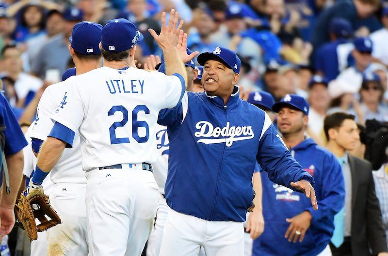 Utley Los Angeles Dodgers
