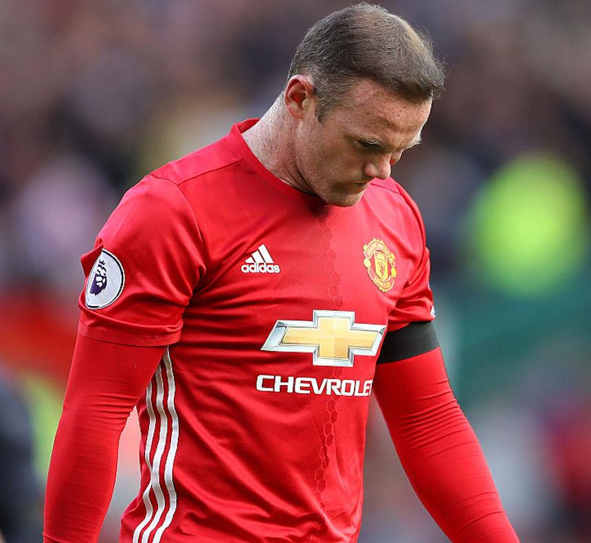 Wayne Rooney no ha tenido un buen año con el Manchester United