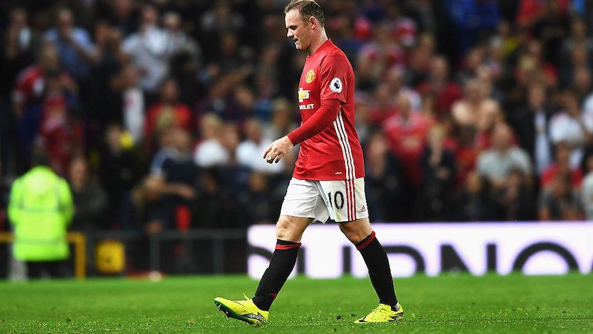 El final de Wayne Rooney con el Manchester United está cerca