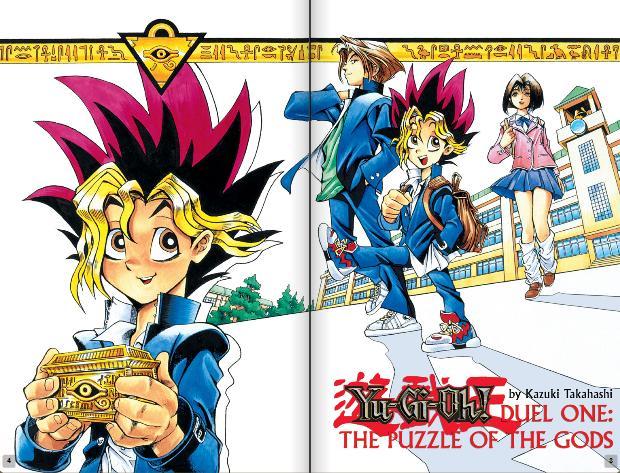 Yu Gi Oh! Manga