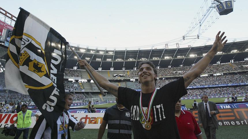 Zlatan ganó un par de ligas con la Juventus, pero no contaron por el escándalo de corrupción