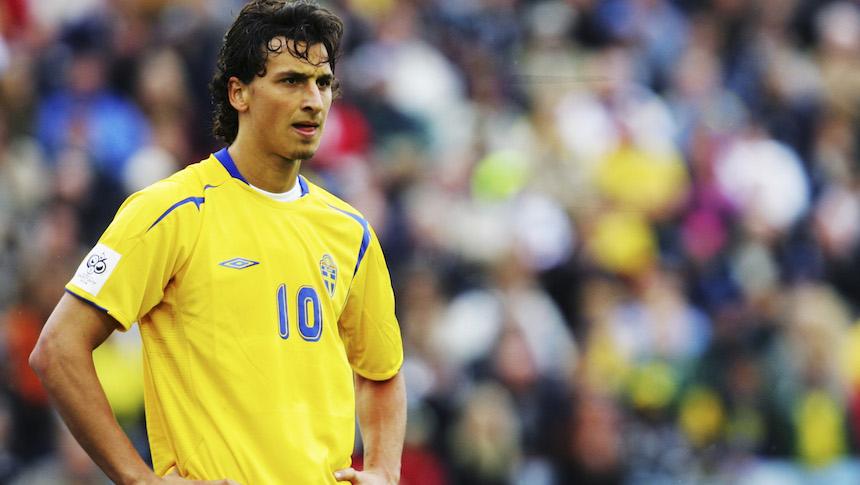 Zlatan no ha podido triunfar con la selección de Suecia