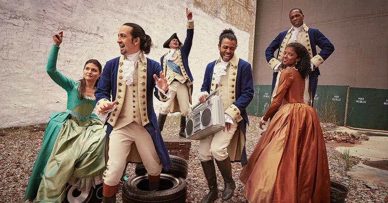 Cast del musical de Broadway Hamilton