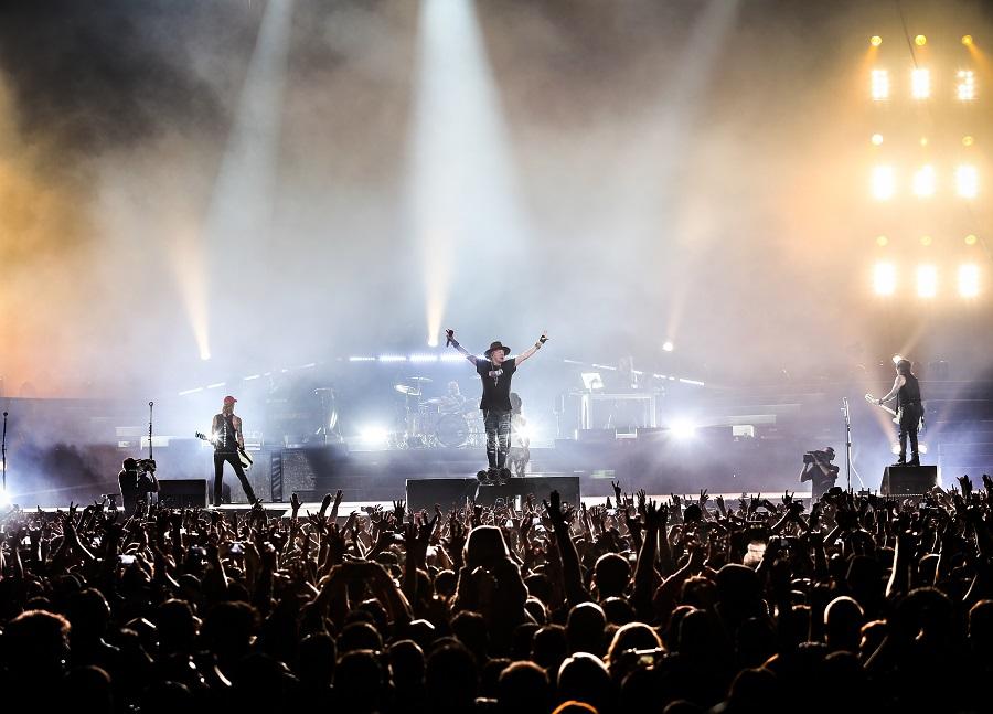 Guns N' Roses: sucios, violentos y covereando en el Palacio de los Deportes