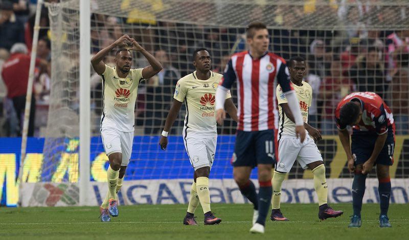 ¡América perdona y Chivas casi está en la semifinal de la Liguilla!