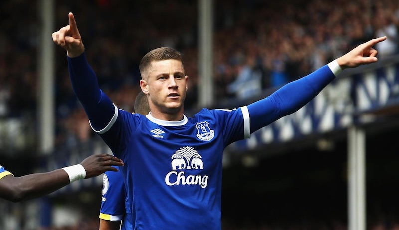 Ross Barkley, sinónimo de respeto en el medio campo del Everton
