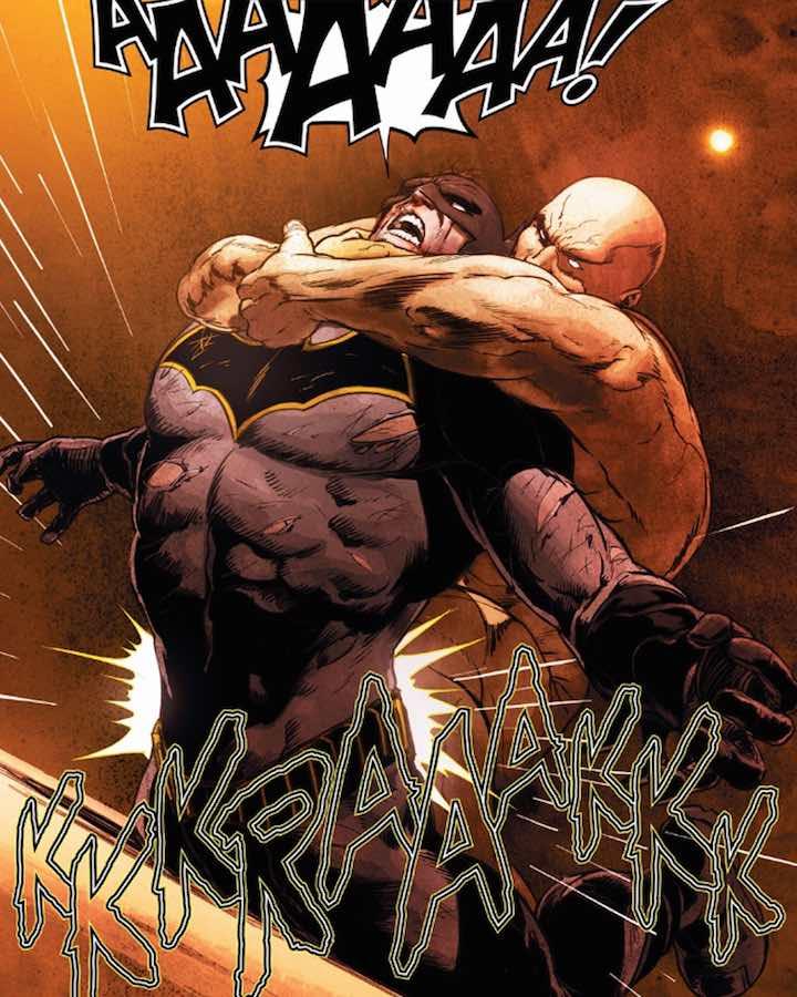 Le rompen la espalda a Batman... otra vez
