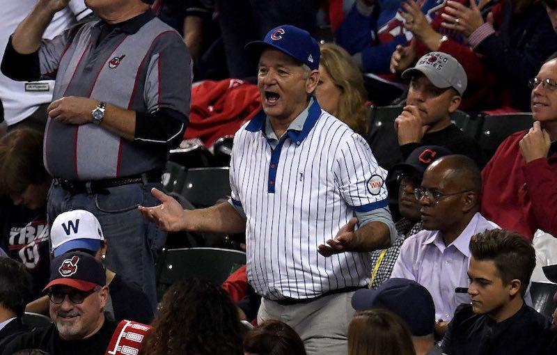 Bill Murray grita