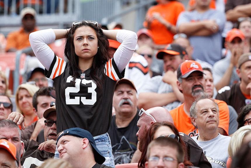 Los Browns son el peor equipo de la NFL
