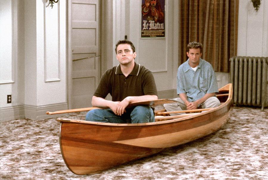 Friends - Chandler y Joey
