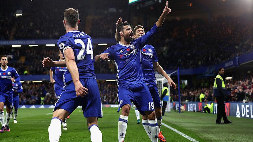 Chelsea no tuvo problemas para vencer al Everton