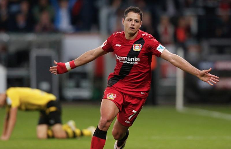 ¡Chicharito Hernández gana el premio a Mejor Gol Latino en la historia de la Bundesliga!