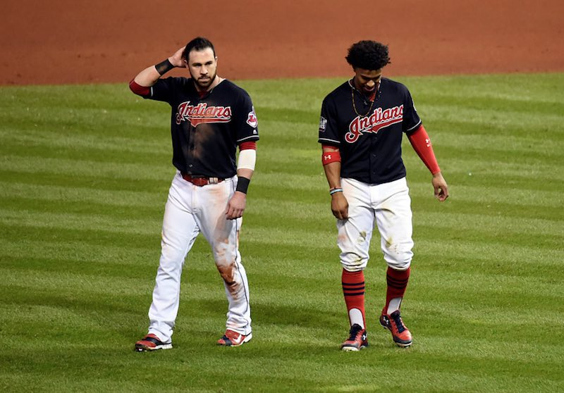 Cleveland Indians tristes
