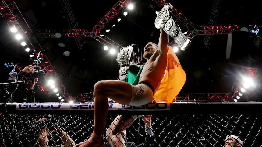 Tanto para nada: Conor McGregor ya no tiene dos cinturones de campeón