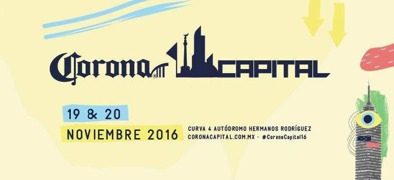 ¡Ya está aquí! Su infalible guía de supervivencia del Corona Capital 2016