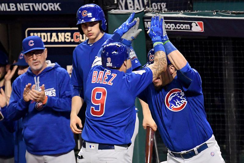 Chicago cubs celebra serie Mundial