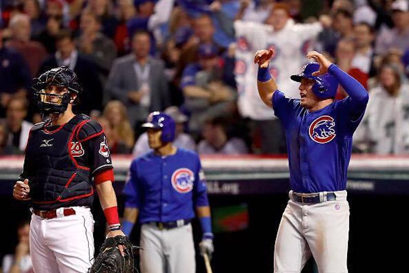 Cubs victoria Zobrist