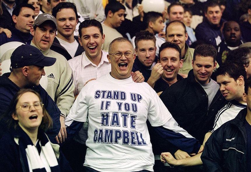 Un fan no quiere a Sol Campbell