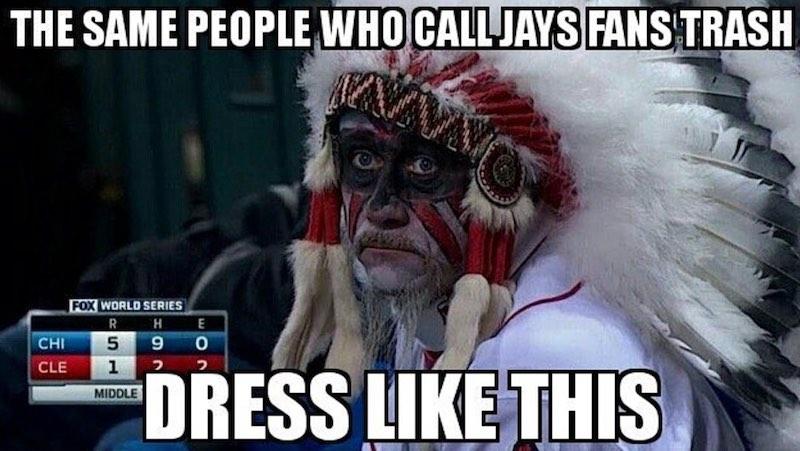 Fans Indians derrotado