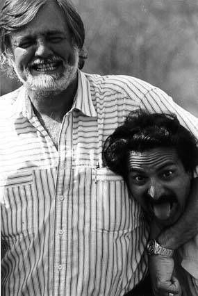 George A. Romero y Tom Savini