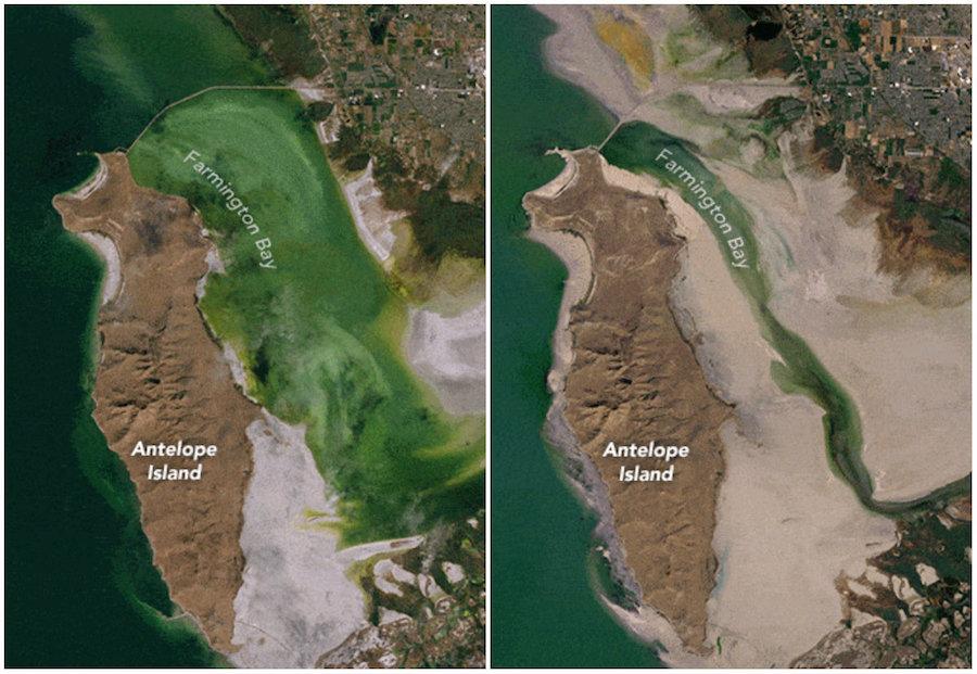 El Gran Lago Salado podría desaparecer, según la NASA