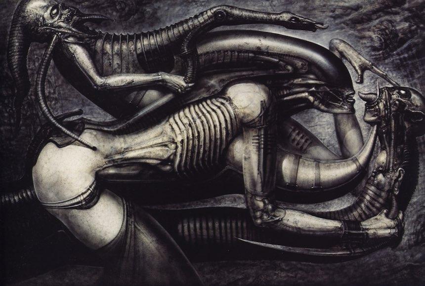 H.R. Giger Necronomicon V