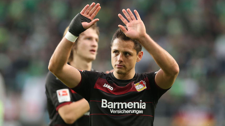 'Chicharito' Hernández a romper la sequía contra el Bayern Múnich