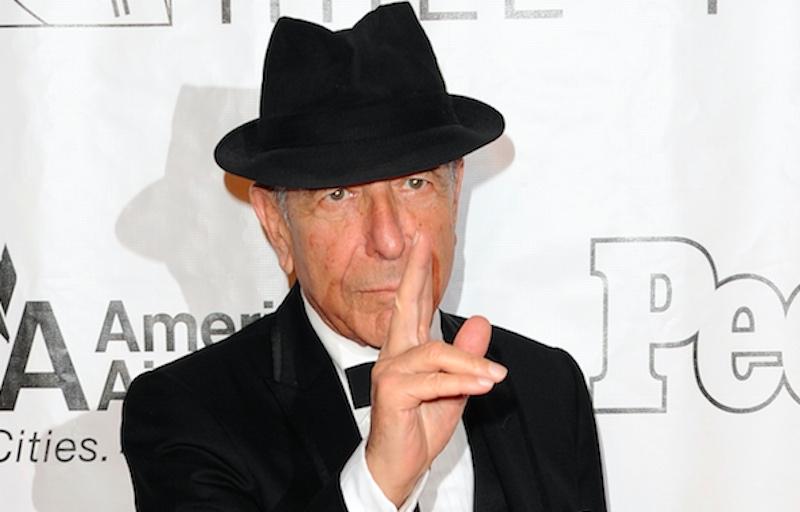 Para nuestra sorpresa, Leonard Cohen falleció desde el lunes