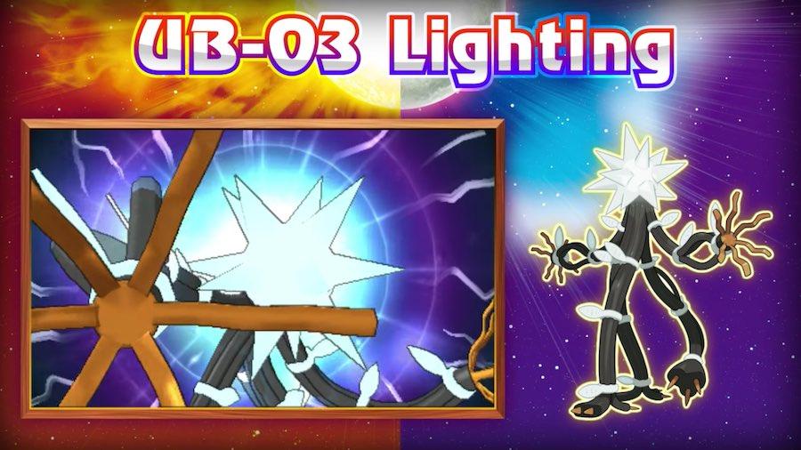 UB-03 Lighting Pokémon Sun/Moon