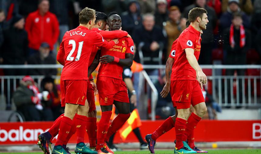 Liverpool es el nuevo líder de la Premier League y todos los resultados de hoy