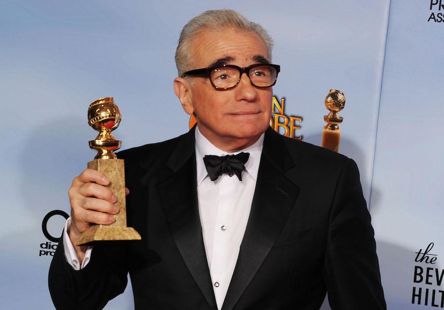 Martin Scorsese y su Golden Globe
