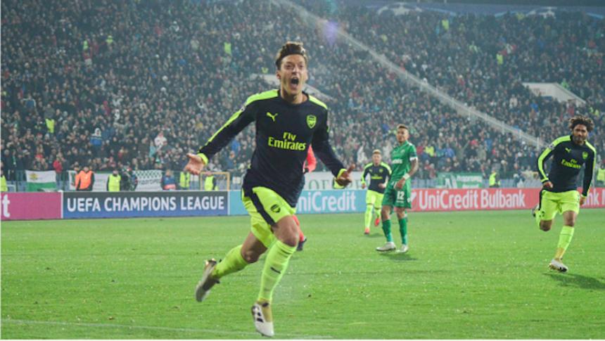 El gol de Özil fue tan bello que hasta lo incluyeron en un video de Planet Earth