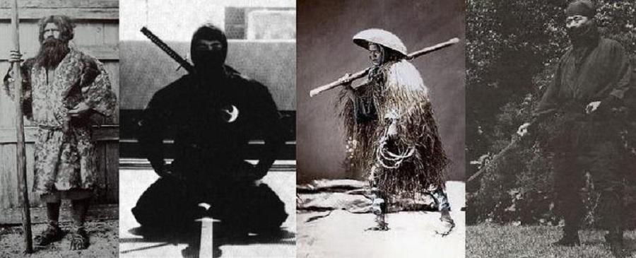 Camuflaje de ninjas reales