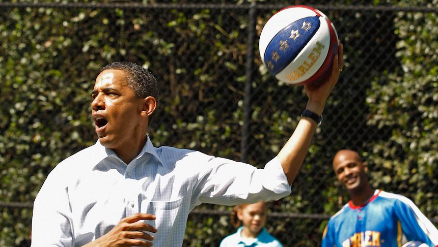 Barack Obama tiene la t